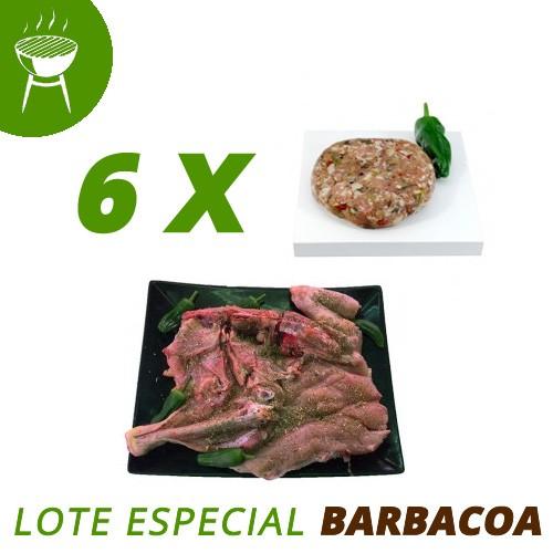 Especial Pollo ecológico Barbacoa