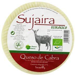 Queso ecológico cabra curado Sujaira